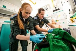 Paramedics on Oil Rig